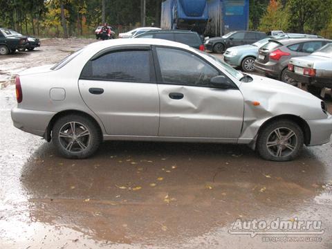 chevrolet lanos автосалон: